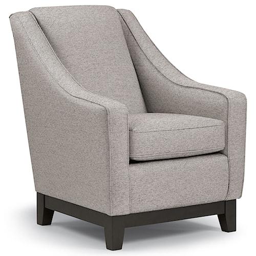 Best Home Furnishings Club Chairs Mariko Club Chair
