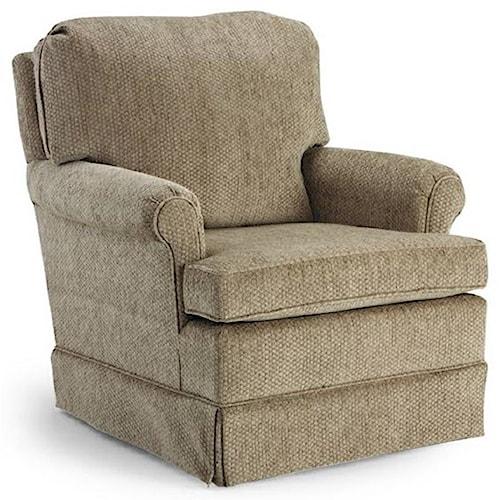 Best Home Furnishings Club Chairs Bruno Club Chair