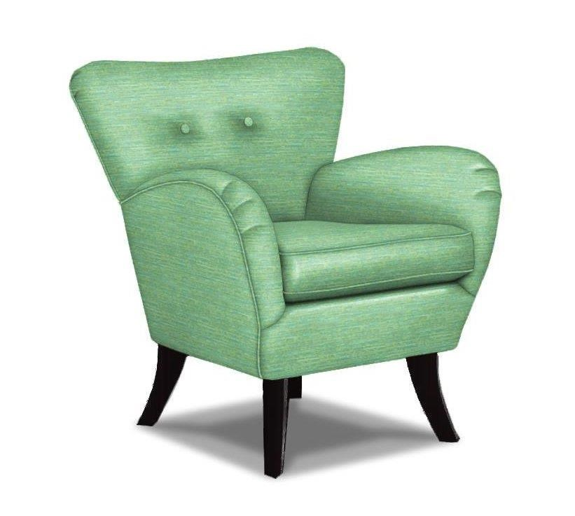 Best Home Furnishings Club Chairs Elnora Contemporary Club Chair With  Flared Back