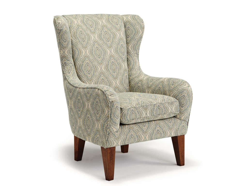 Best Home Furnishings Chairs - ClubLorette Club Chair