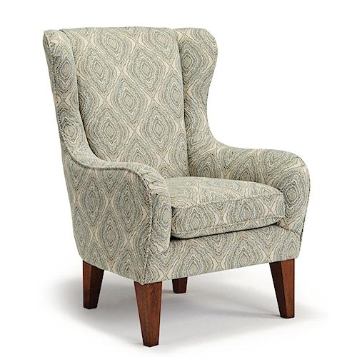 Best Home Furnishings Club Chairs Lorette Club Chair