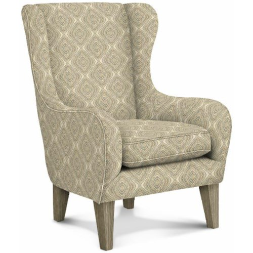 Best Home Furnishings Club Chairs Oatmeal Wingback Chair