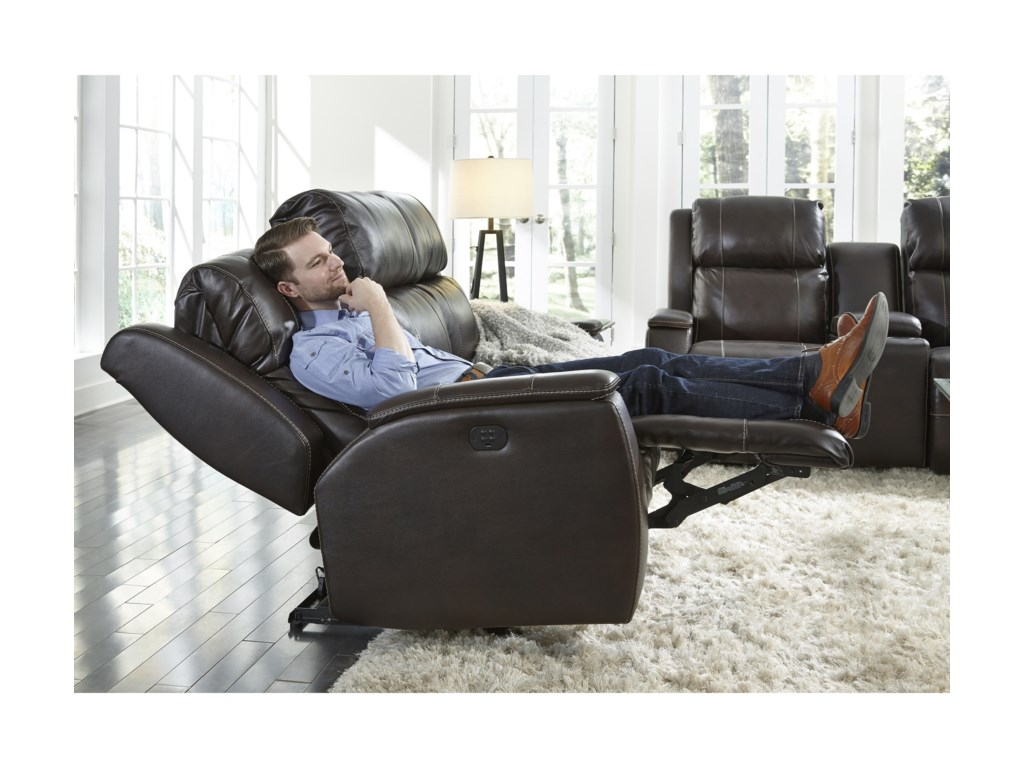 Best Home Furnishings ColtonPower Walhugger Recl Sofa w/ Pwr Headrest