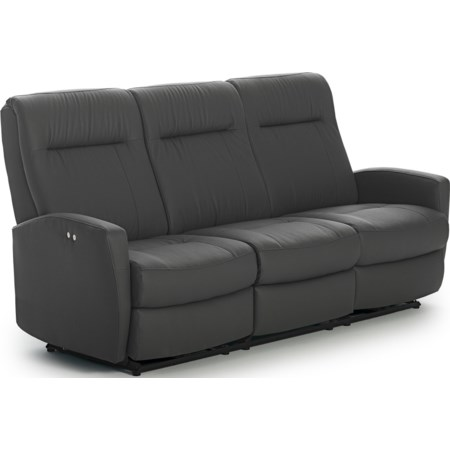 Power Space Saver Reclining Sofa
