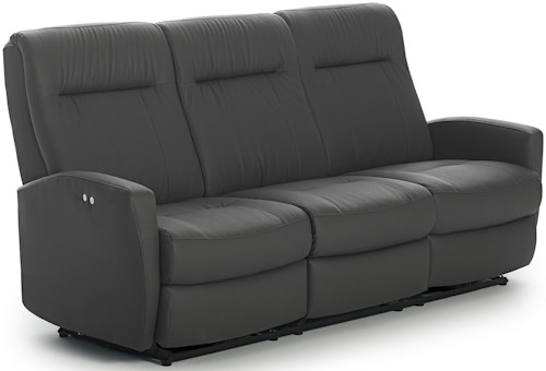 Best Home Furnishings Costilla Contemporary Space Saver Reclining Sofa