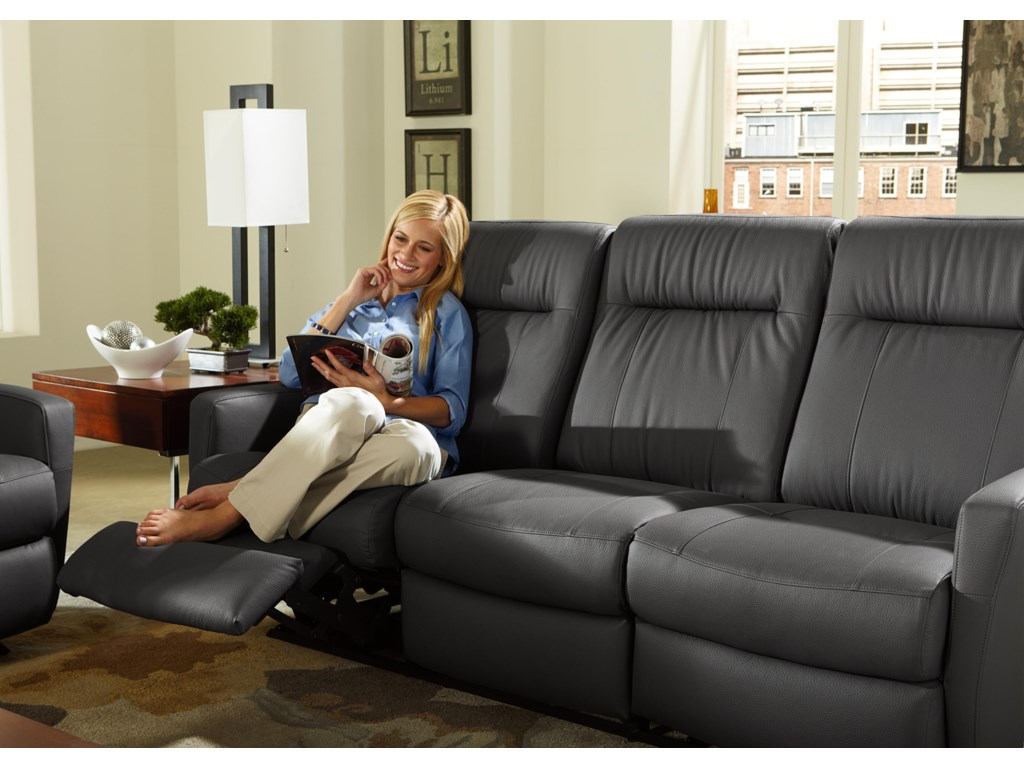 Best Home Furnishings CostillaSpace Saver Reclining Sofa