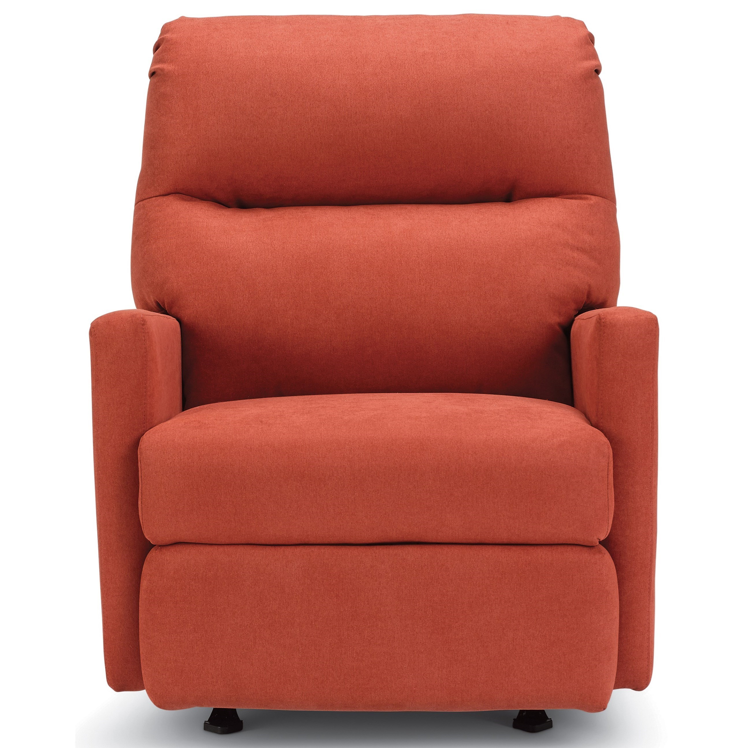 Casual Space Saver Recliner with Track Arms