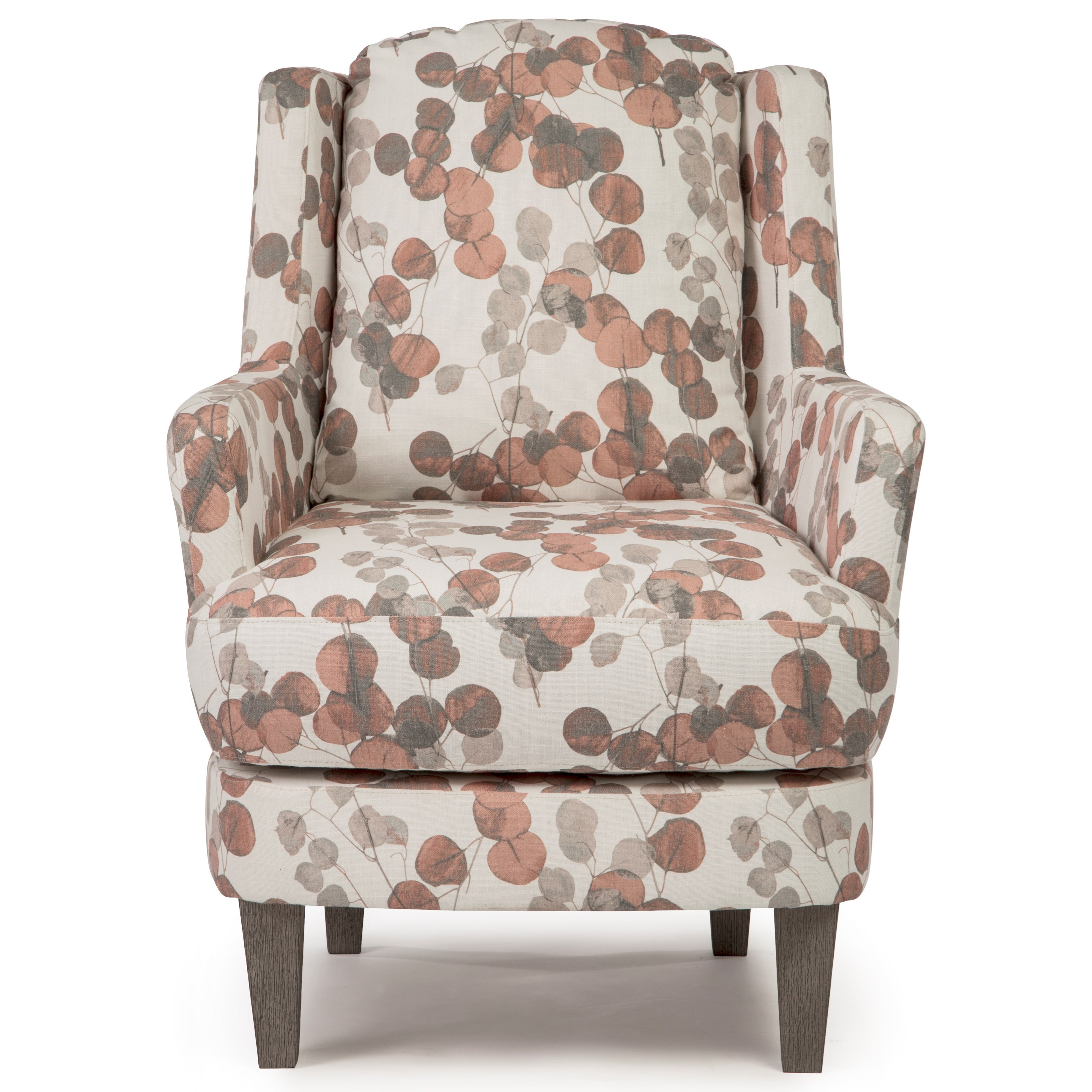 Picture of: Best Home Furnishings Crew Transitional Wing Back Swivel Barrel Chair Conlin S Furniture Wing Chairs