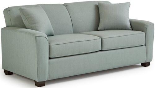 Best Home Furnishings Dinah Contemporary Full Sofa Sleeper with Air Dream Mattress