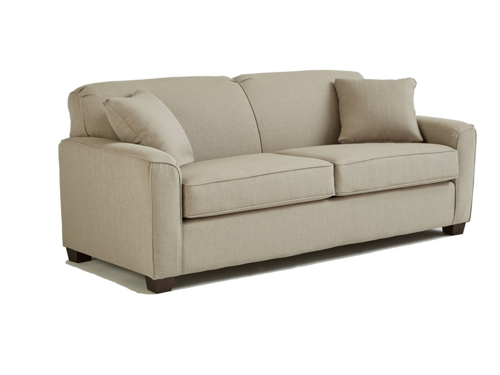Dinah Contemporary Queen Sofa Sleeper With Air Dream Mattress By Best Home Furnishings At Turk Furniture