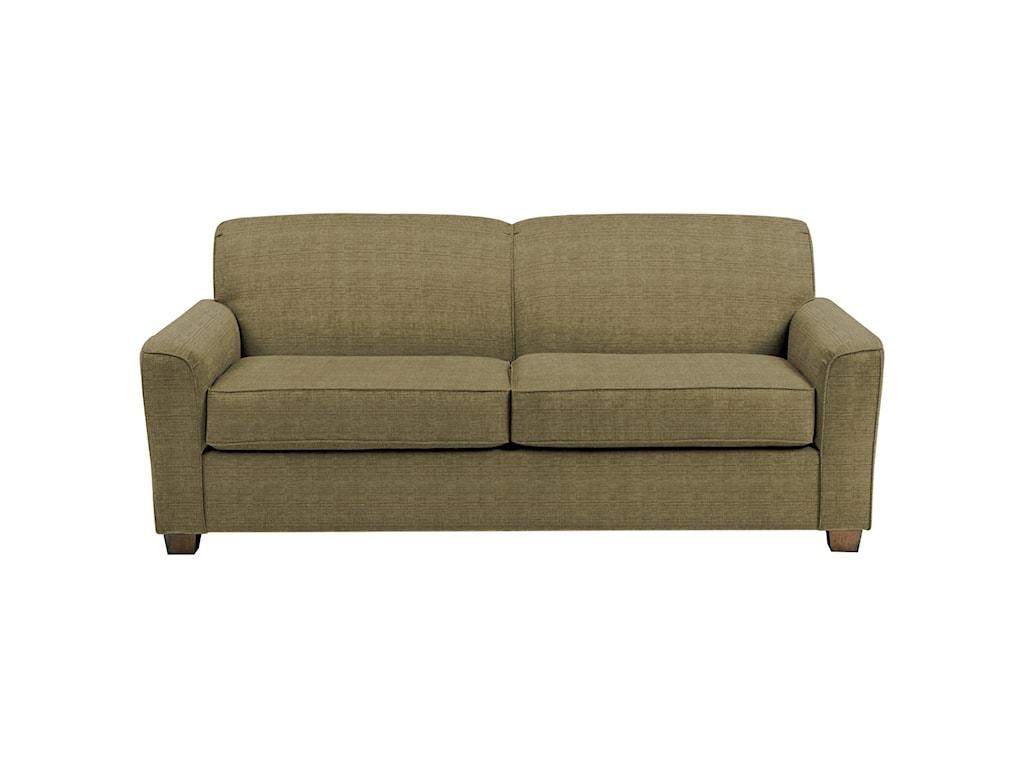 Best Home Furnishings DinahQueen Sofa Sleeper w/ Air Dream Mattress