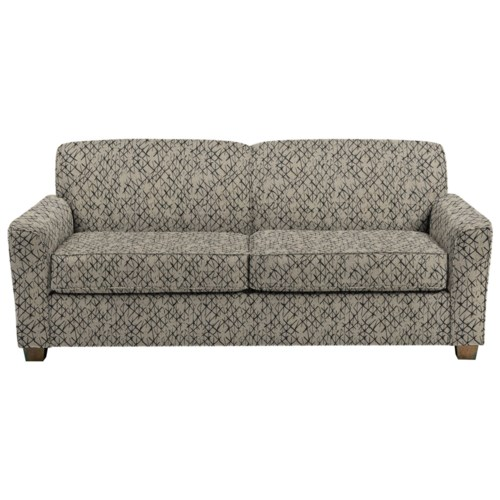 Best Home Furnishings Dinah Contemporary Queen Sofa Sleeper With Air Dream Mattress