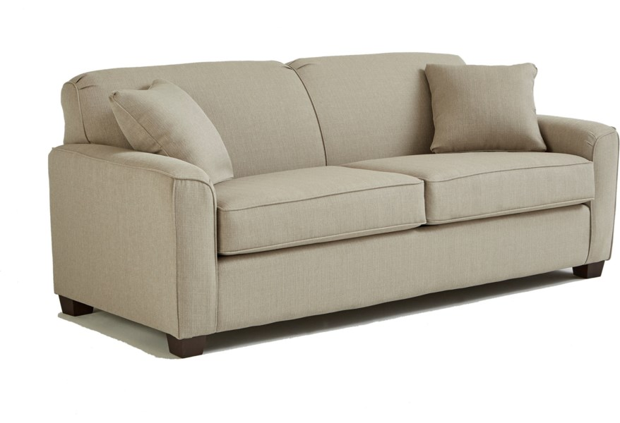 Best Home Furnishings Dinah S16QDP Contemporary Queen Sofa ...