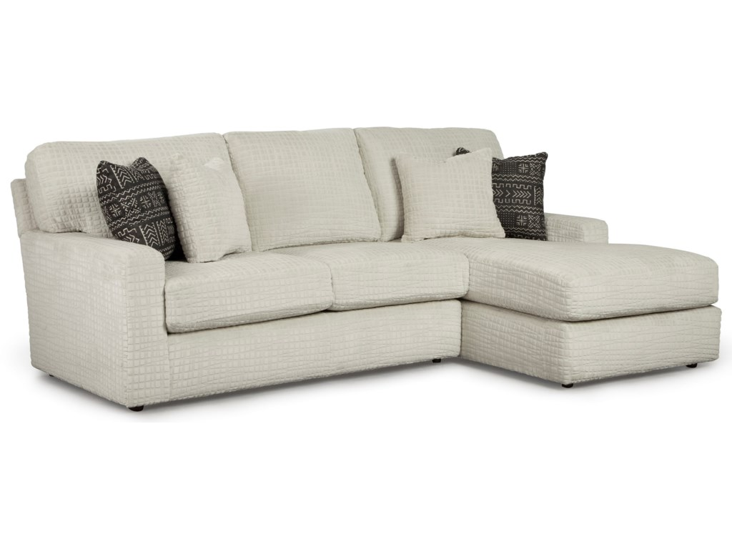 Best Home Furnishings Dovely2 Piece Sectional Sofa w/ RAF Chaise