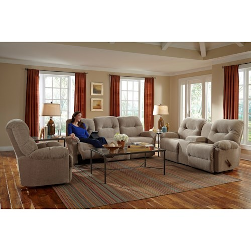 Best Home Furnishings Ellisport Reclining Living Room Group