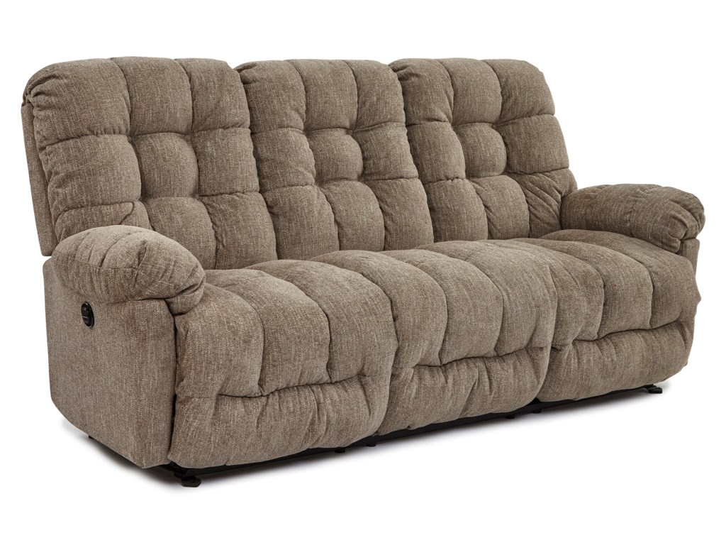 Best Home Furnishings EverlastingPower Space Saver Sofa w/ Pwr Tilt Headrest
