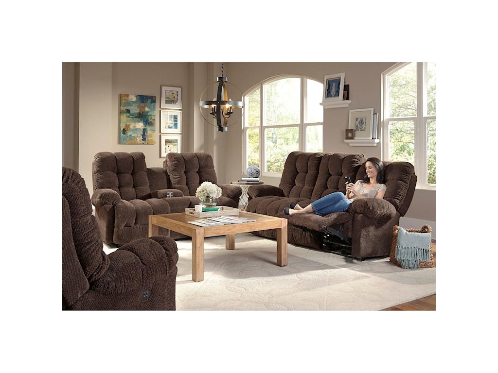 Best Home Furnishings EverlastingPower Space Saver Sofa w/ Pwr Tilt Headrest
