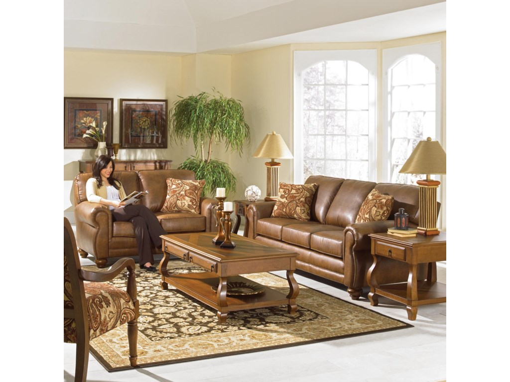 Best Home Furnishings FitzpatrickStationary Loveseat