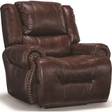 Pwr Tilt Headrest Rocking Recliner