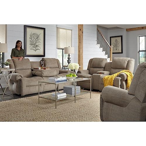 Best Home Furnishings Genet Reclining Living Room Group