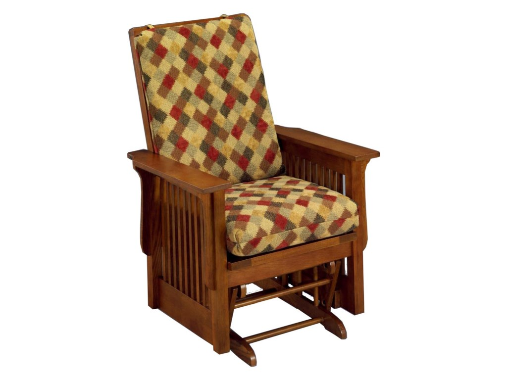 Best Home Furnishings Glide Rocker and OttomansTexiana Glider