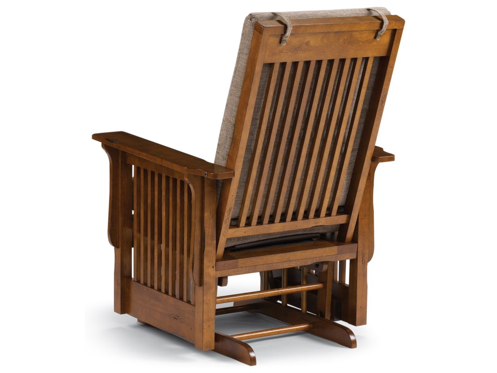 Best Home Furnishings Glide Rocker and OttomansGlider