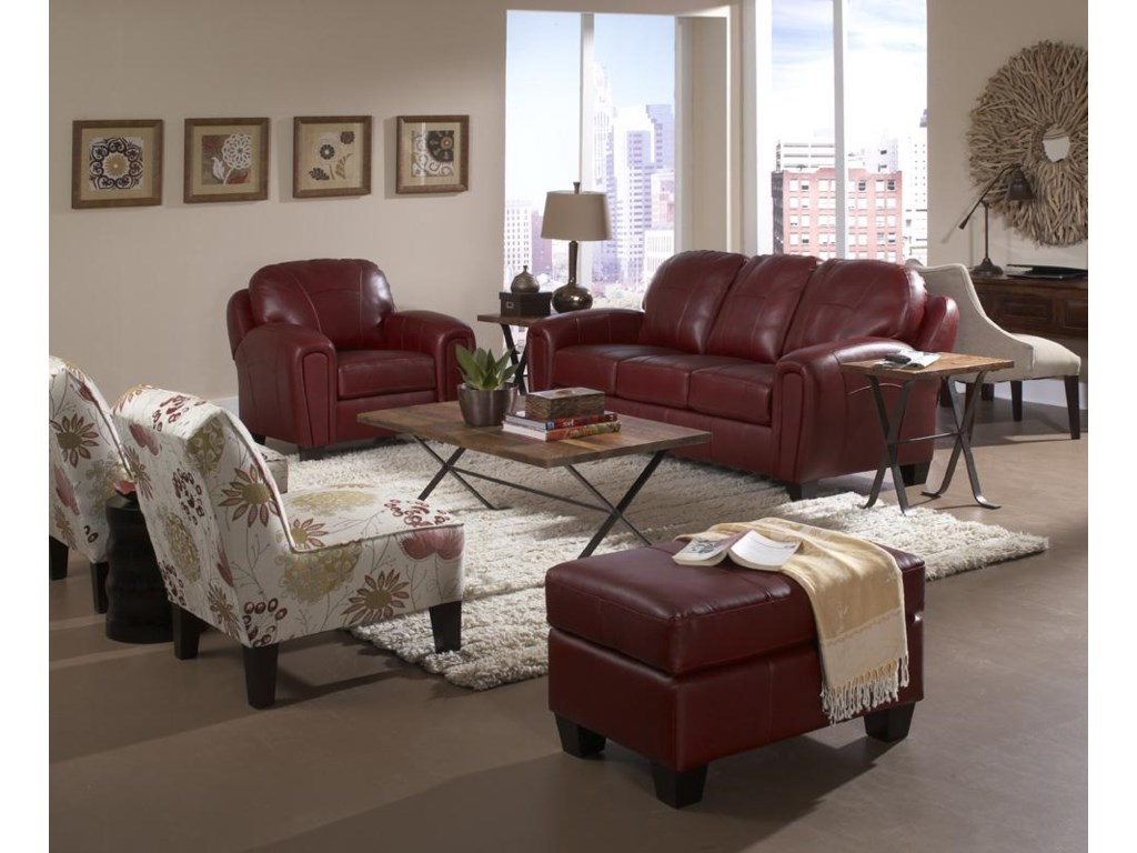 Shown with Club Chair and Ottoman