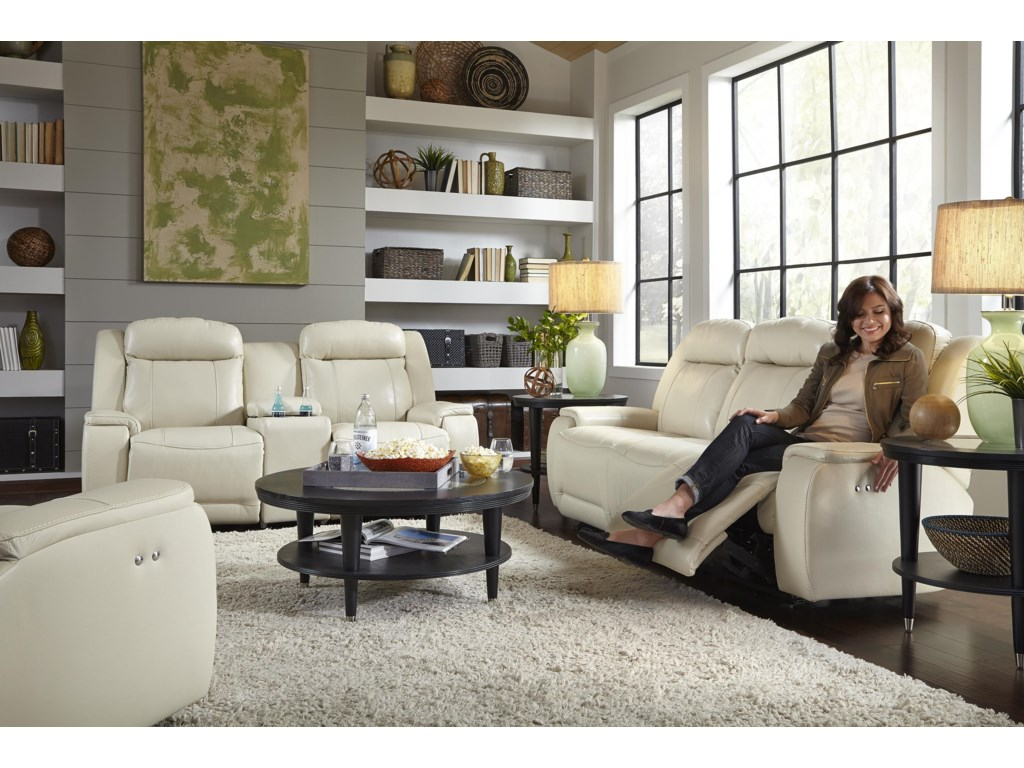 Best Home Furnishings HardistyRocking Reclining Loveseat w/ Console