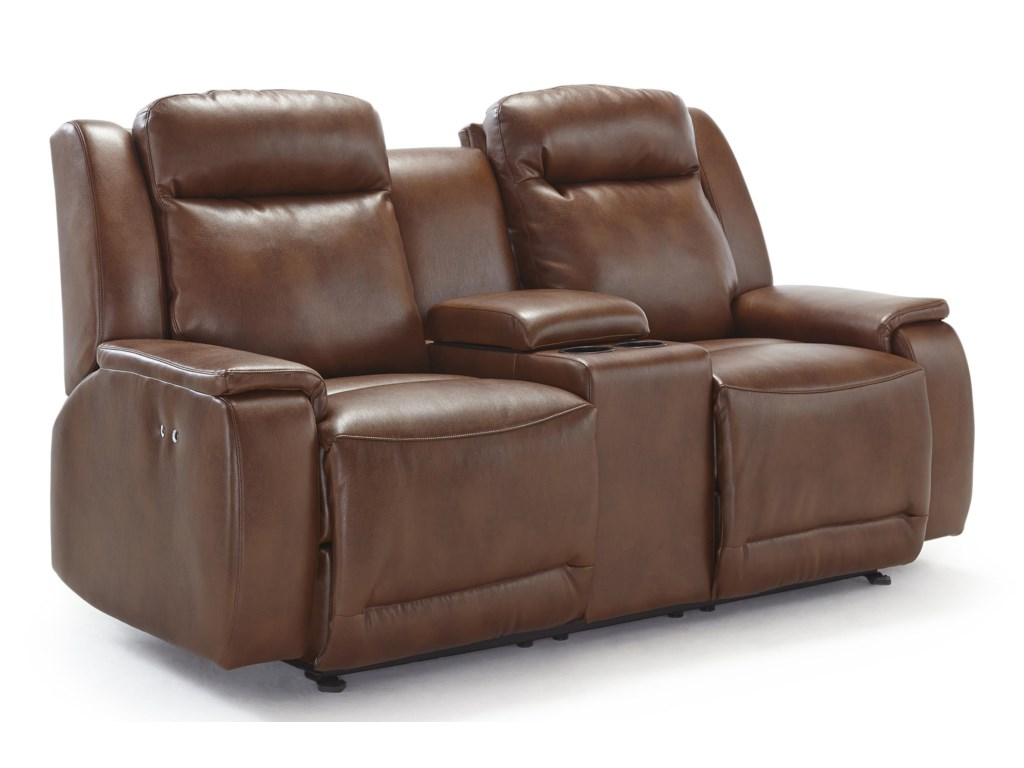 with bonded sofa homelegance leather recliner drop center black match marille holder he p cup
