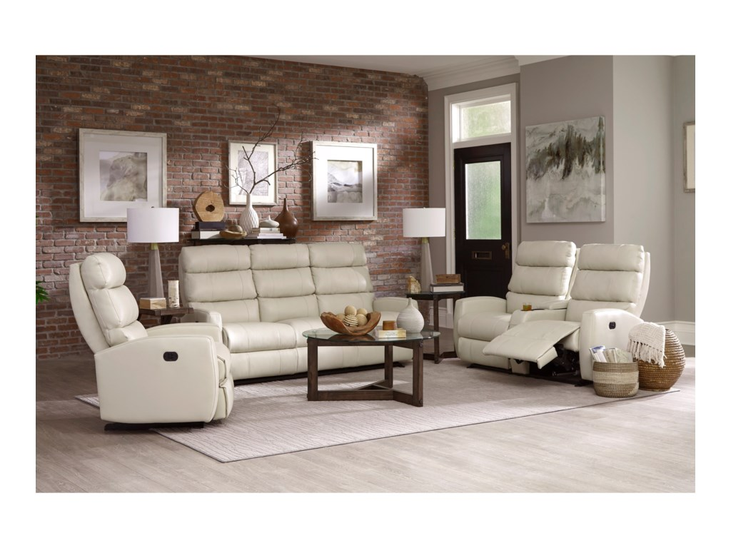 Best Home Furnishings HillariePower Reclining Space Saver Console Loveseat