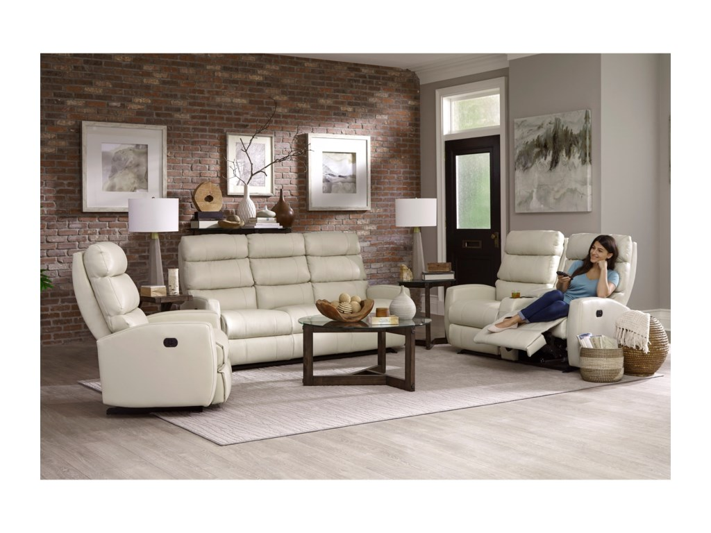 Best Home Furnishings HillarieReclining Rocker Console Loveseat