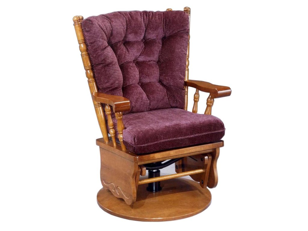 Best Home Furnishings JiveSwivel Glide Rocker