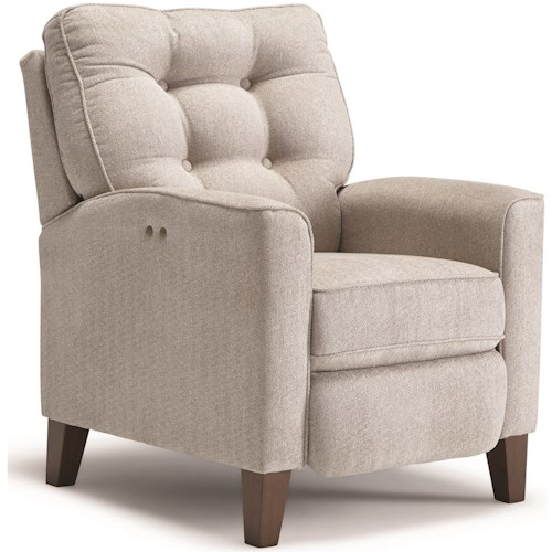 Best Home Furnishings Karinta Power High Leg Recliner with Tufted Back