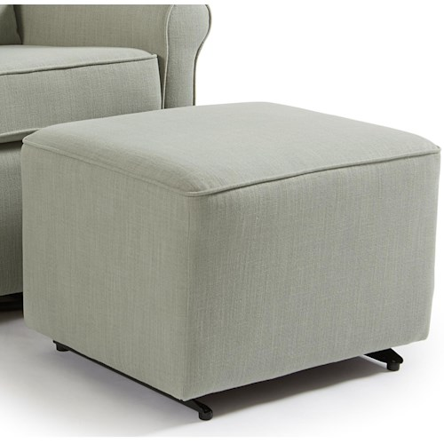 Best Home Furnishings Kacey Ottoman with Glider Base