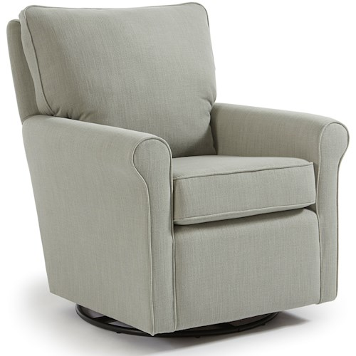 Best Home Furnishings Kacey Casual Swivel Glider Chair
