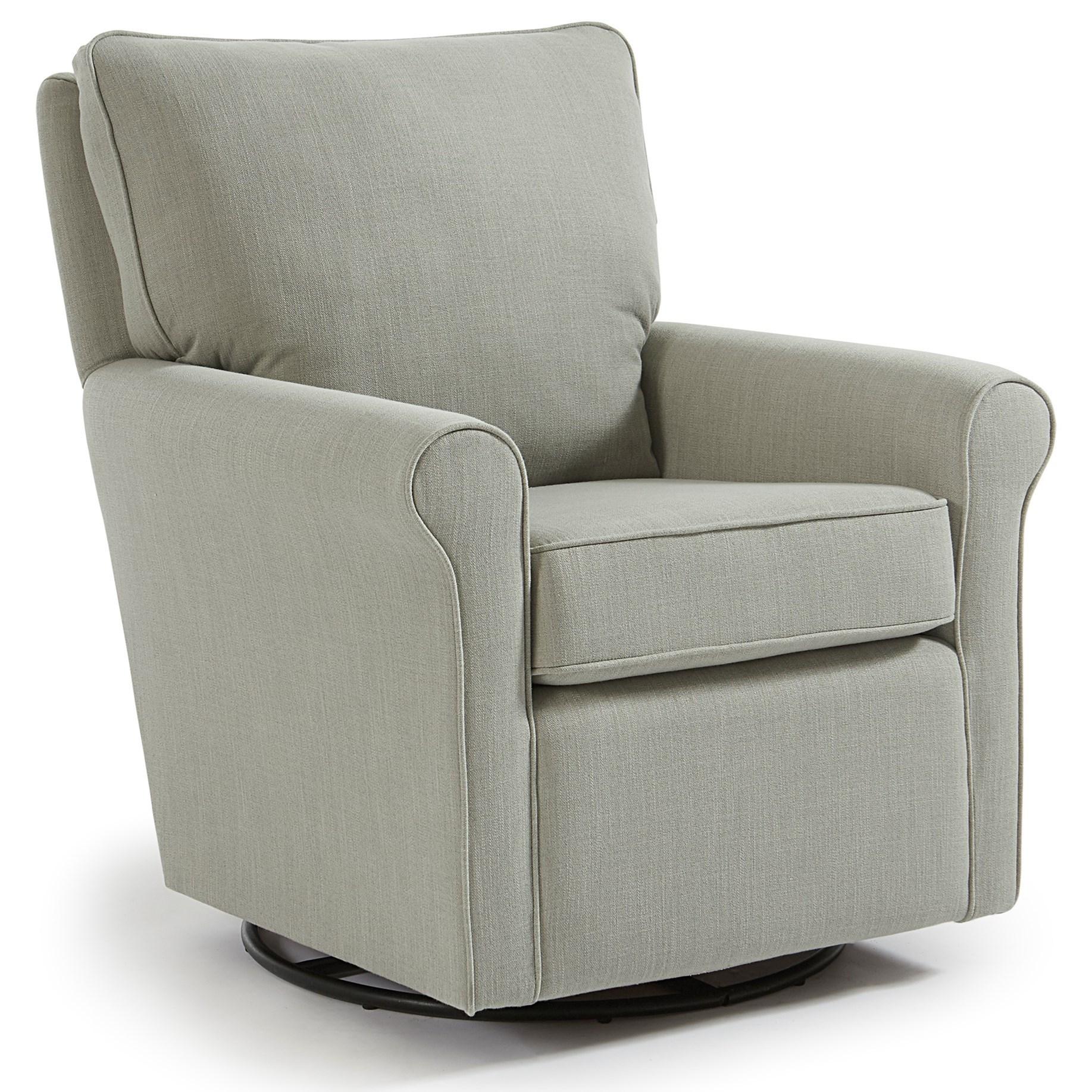 Genial Best Home Furnishings Kacey Casual Swivel Glider Chair