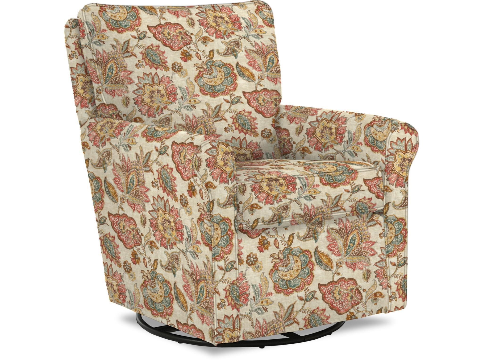 Best Home Furnishings Kacey Casual Swivel Glider Chair