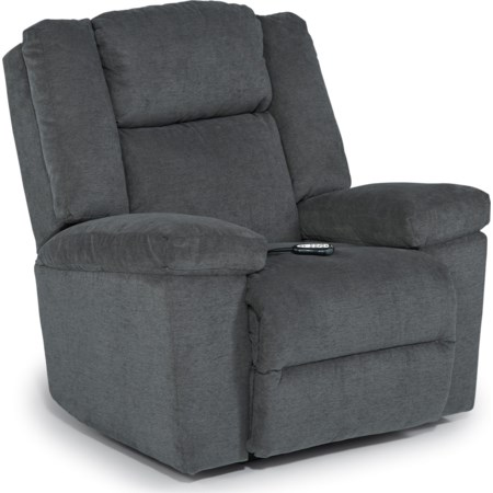 Pwr Rocker Recliner w/ Pwr Head & Lumb