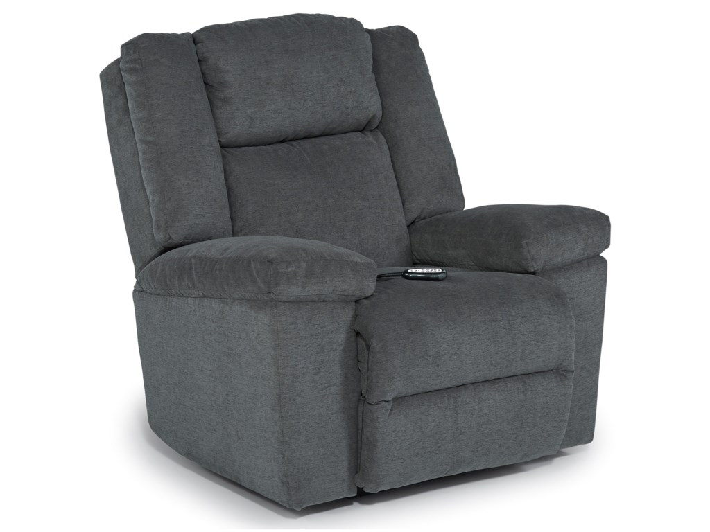 Best Home Furnishings LeoPwr Space Saver Recliner w/ Pwr Head & Lumb