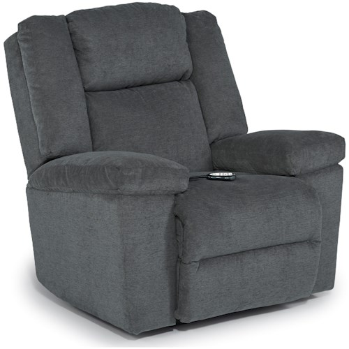 Best Home Furnishings Leo Casual Space Saver Recliner