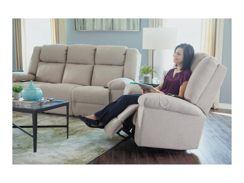 Best Home Furnishings LeoSpace Saver Recliner