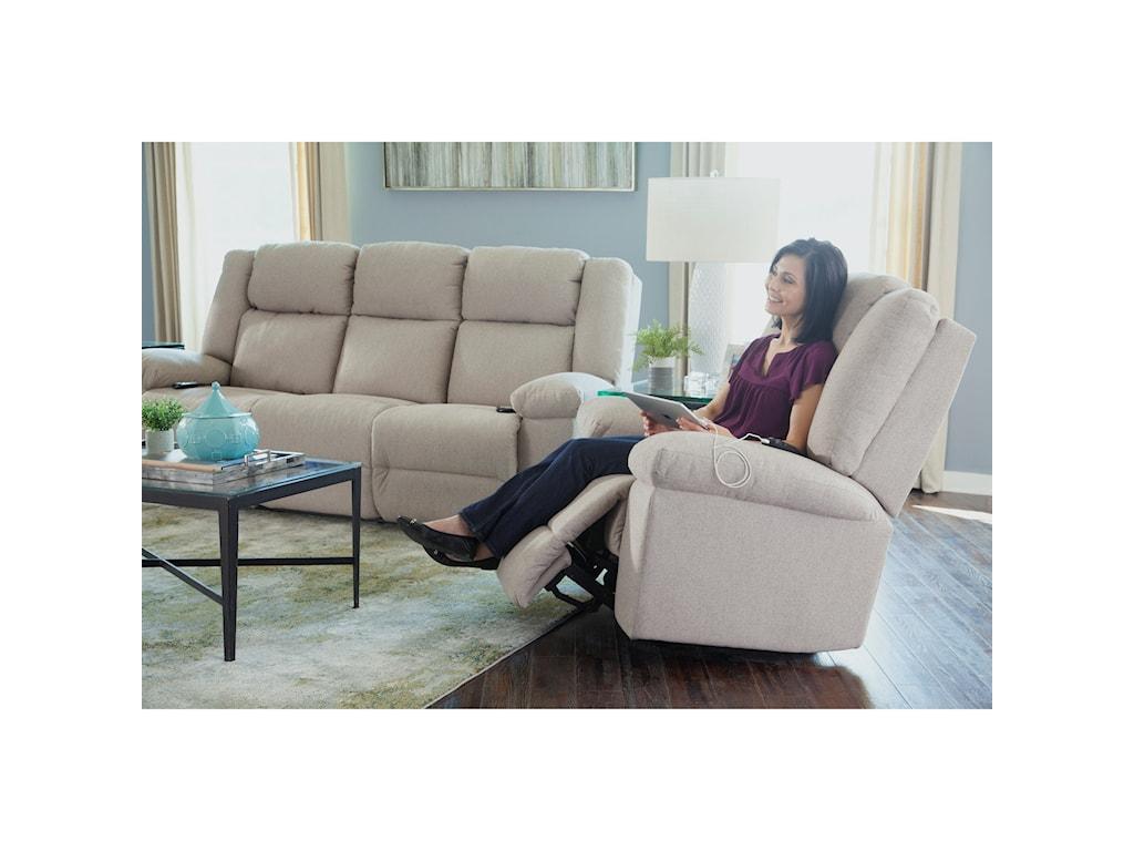 Best Home Furnishings LeoSpace Saver Recliner