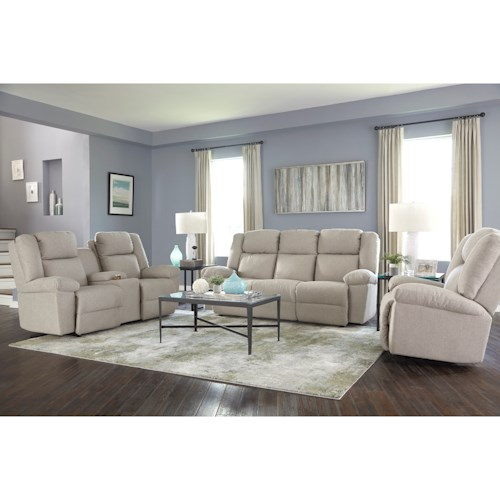 Best Home Furnishings Leo Reclining Living Room Group