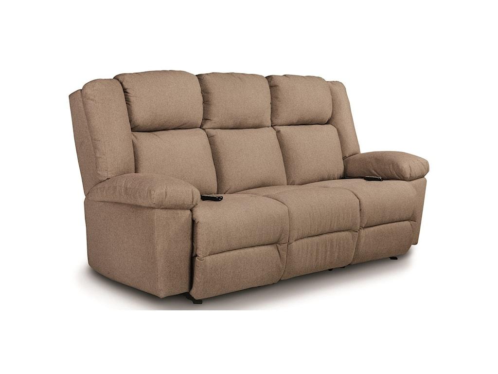 Best Home Furnishings LeoPwr Tilt Head/Lumbar Wall Sav Reclining Sofa