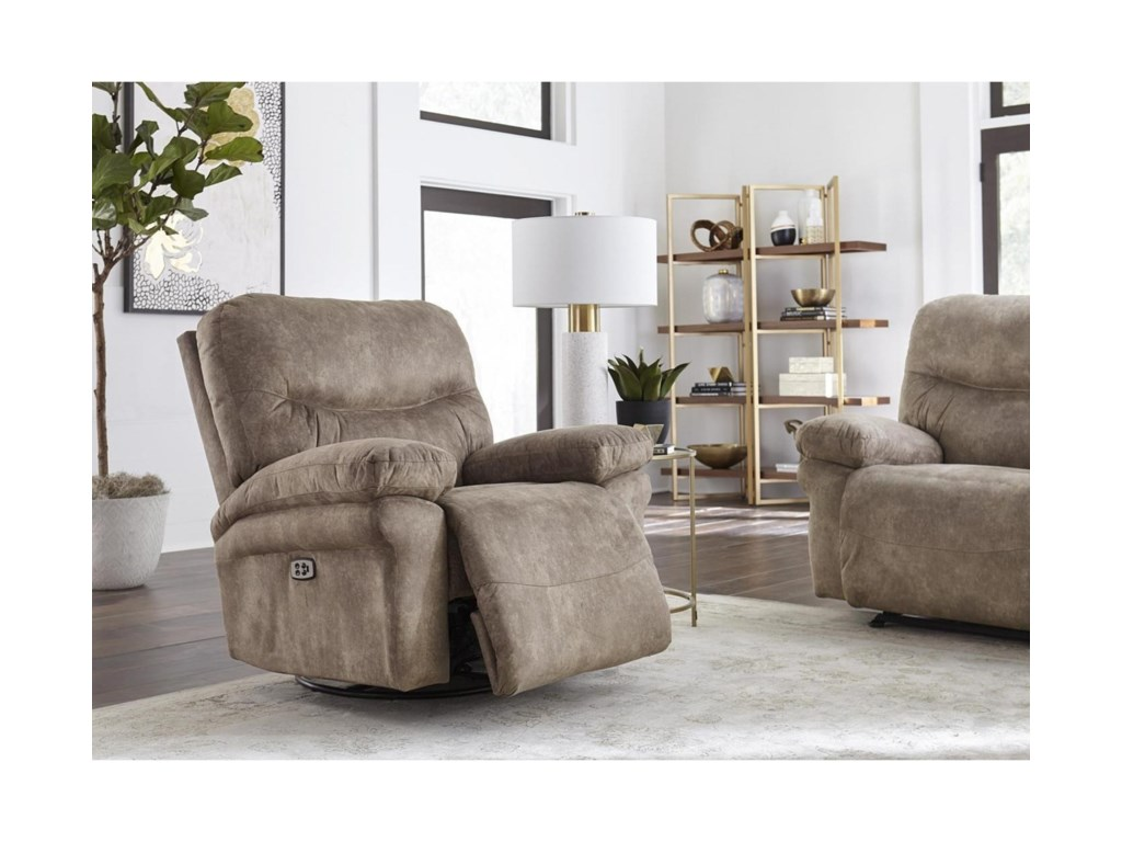 Best Home Furnishings LeyaPower Space Saver Recliner