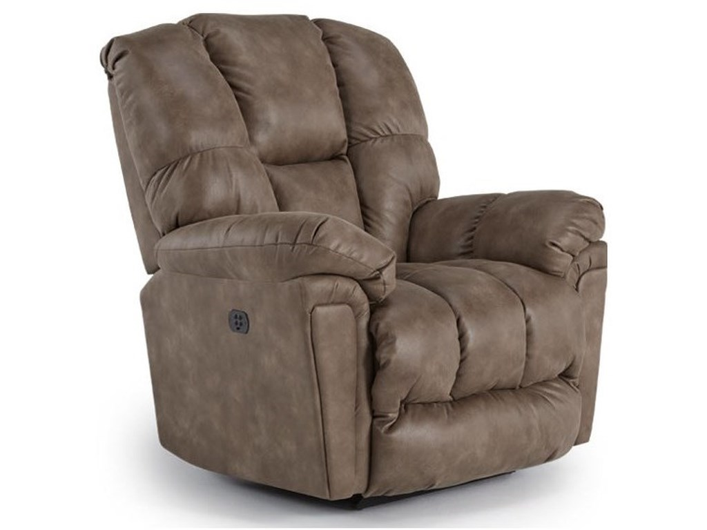 Best Home Furnishings LucasPower Swivel Glider Recliner