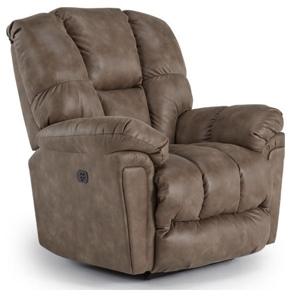 Best Home Furnishings LucasSwivel Rocker Recliner