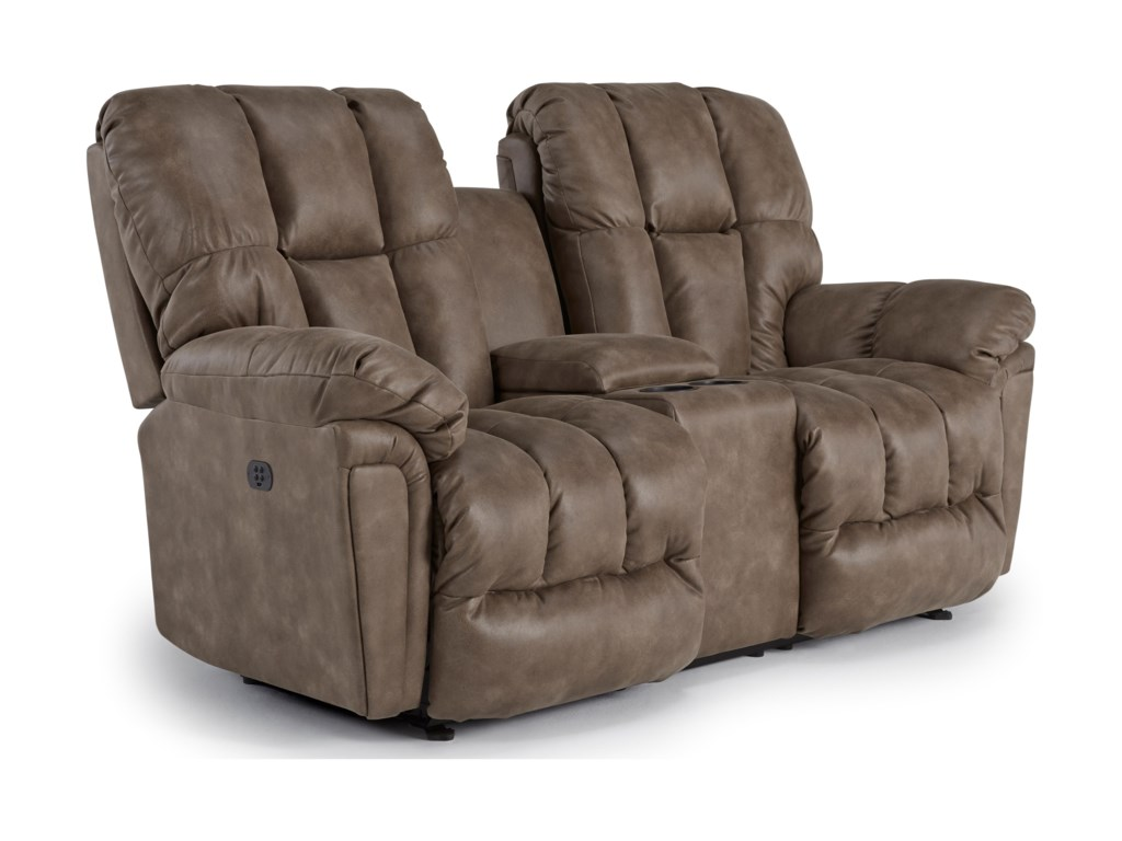 dual rocking catnapper love chocolate recliner leather seat loveseat reclining rocker