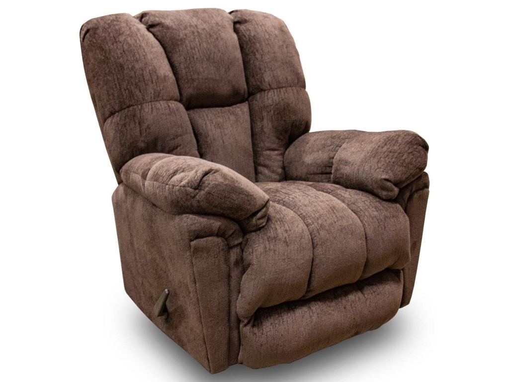 Best Home Furnishings 6M57Lucas Walnut Rocker Recliner