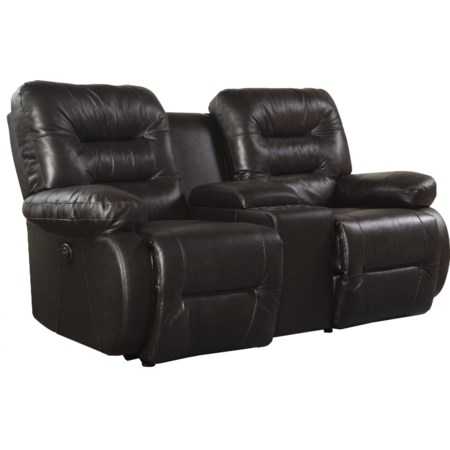 Console Space Saver Loveseat Chaise